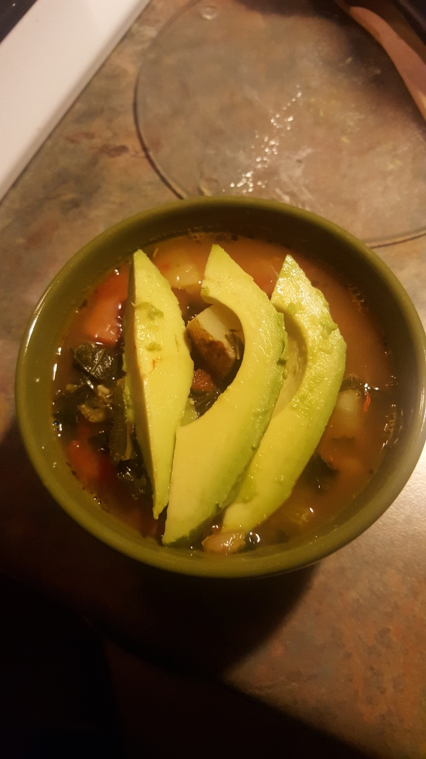 Turkey Sausage Kale Soup Avacado